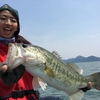 BASS in Lake BIWA!!