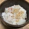 長芋と梅干しの炊き込みご飯