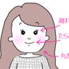 【メイク】私のコンプレックス解消術(後編)~離れ目・たらこ唇・丸顔~