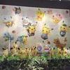 ポケモンセンターとポケモンカフェのショーウインドゥ at 日本橋高島屋