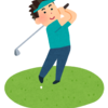 初めてゴルフクラブの試打をした