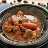 ビッグスワンのスタジアムグルメ「牛すじ煮込み」は、じっくり煮込まれたお肉が美味でした( ^∀^)
