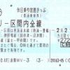 休日乗り放題きっぷ85mm化