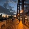 【夜景】丸子橋から見る武蔵小杉