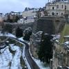 ルクセンブルグの城壁とフランスのメス