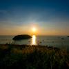プーケットナイハンビュー(ウインドミルビュー)ポイントで見る夕日は美しい!
