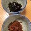 出汁がら昆布の佃煮とアミエビの佃煮