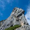 剱岳 チンネ左稜線