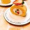 フルーツロールケーキ。