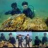 初ダイビングは沖縄の海