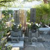 太宰治と森鴎外のお墓がある三鷹の禅林寺。