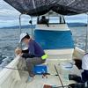 川尻港の一つテンヤ鯛釣り