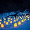 淡い光の情景 湯西川温泉かまくら祭り