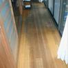 床の塗装1(縁甲板の表面塗り替え事例)