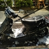 #バイク屋の日常 #スズキ #アドレスV100 #洗車 #洗車びより