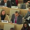 第43回人権理事会:高等弁務官の口頭報告ならびに人権高等弁務官による事務総長および事務所の国別報告および口頭報告に関する一般討論を継続