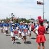 おうら祭りの、パレードに参加しました