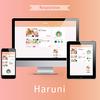 ブログテーマ 【 Haruni 】