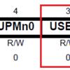USART / レジスタを少しいじってみる / ストップビット数を変えてみる