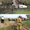 韓国空軍の飛行機T-50墜落パイロット死亡