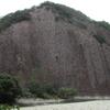 古座川の一枚岩 (和歌山県東牟婁郡古座川町相瀬)