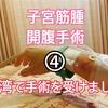 【台湾で手術】台湾で発見!約8センチの子宮筋腫開腹手術!④手術当日(2)