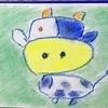 Art 優しい牛さん