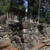 黒滝村の長瀬八幡神社に上る