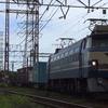 貨物列車撮影 7/27 EF66 27充当4093レ、EF65 2101充当遅れ5086レなど