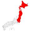 都道府県を画像で表現する 北海道~神奈川県
