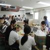 辰巳ビル3F調理室でカレー作り