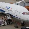 雰囲気が変わった機内  ANA シンガポール-東京成田 NH802 プレミアムエコノミー  搭乗記