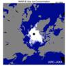 北極海海氷縮小-ロシア航路が開通