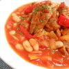 絶品!!ホロホロ!!ヘルシー!!お豆たっぷりスペアリブのトマト煮