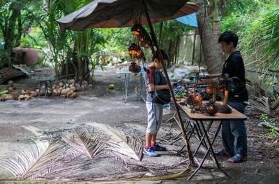 【タイ旅行記#6】 VELTRAオプショナルツアーで行ってきた!ココナッツファーム+水上マーケット+象乗り。半日でめちゃ充実するから行ったほうがいいよ!