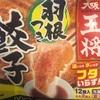 【🐖夕飯:冷凍餃子&エビス】