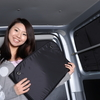 エルグランドE52系で車中泊。大人気車中泊グッズプライバシーサンシェードのご紹介