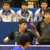 男子リーグ1戦目・ダブルス! 2019第46回全国高等学校選抜卓球大会