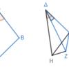 第1巻命題24 二つの三角形の不等な角