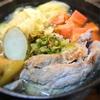 塩豚のポトフ、ふきのとう風味