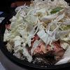 北海道の秋の味覚、秋鮭のちゃんちゃん焼と初顔合わせ。
