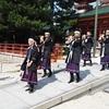 維新勤王隊の奏楽(演奏)、平安神宮応天門で披露♪(動画あり)