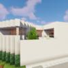 中庭のあるモダンな家を作る