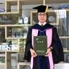 働きながら9年かけて博士号を取得しました