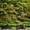 S1000RR&883で7月の榛名山ツーリング。