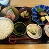 石川県金沢市藤江南にある魚菜うお江で、コスパの良い日替定食。