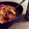 【手軽レシピ】ひと夏ずっと食べてた鶏肉のトマト煮カレー風味