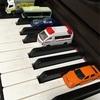 我が家のピアノの鍵盤がなぜか駐車場に。