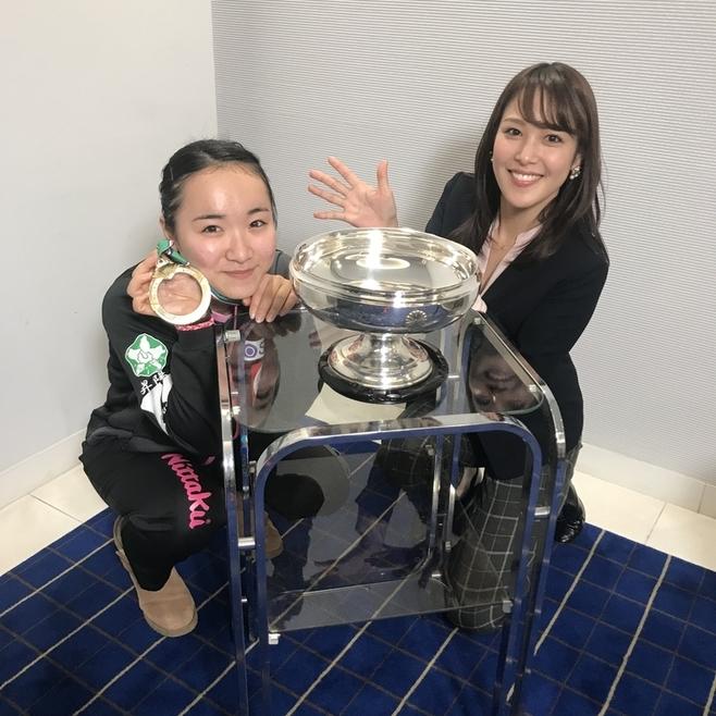 卓球取材で見た伊藤美誠選手