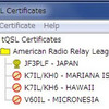 Additional Callsigns  -LoTW-